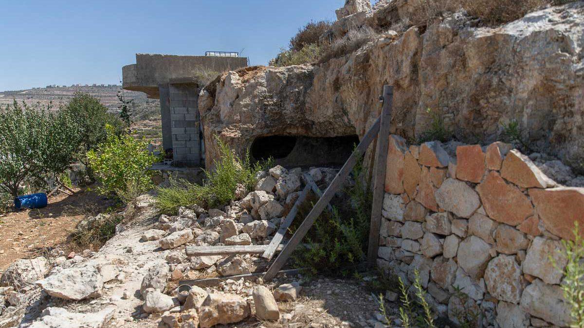 FDI halla un gran almacén de explosivos de Hamás en Judea y Samaria