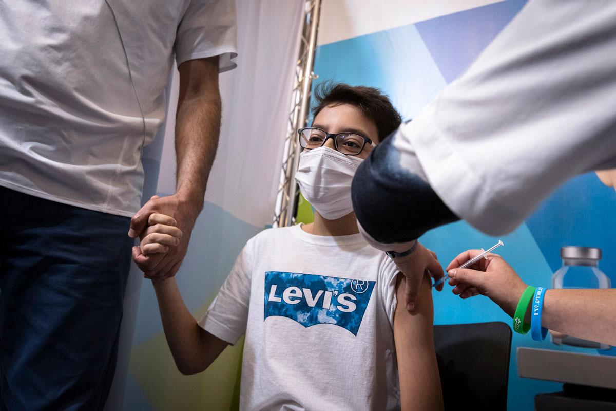 Pfizer busca la autorización de la FDA para vacunar a niños de 5 a 11 años