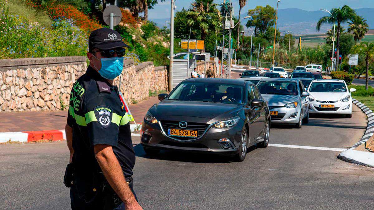 ¿Puede la policía ayudar a ganar la batalla contra el COVID-19 en Israel?