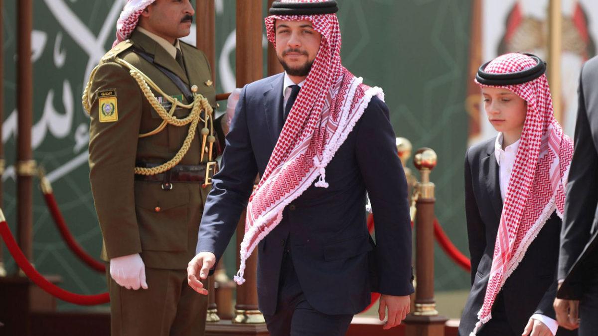 El príncipe heredero de Jordania da positivo a COVID
