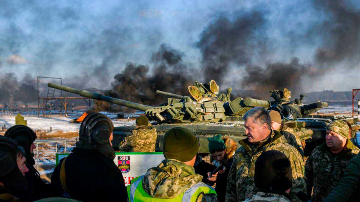 """Rusia puede atacar el sur de Ucrania """"en cualquier momento"""""""