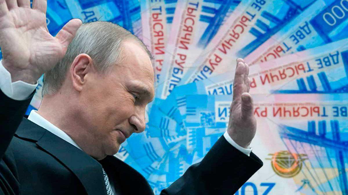 $ 55 mil millones desaparecen del sistema bancario ruso
