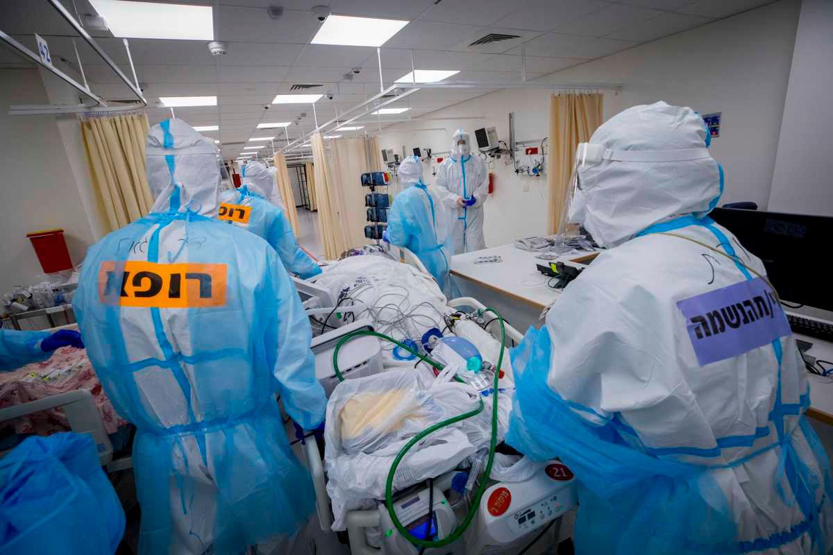 Covid-19 en Israel: Los hospitales entran en crisis debido al aumento de casos