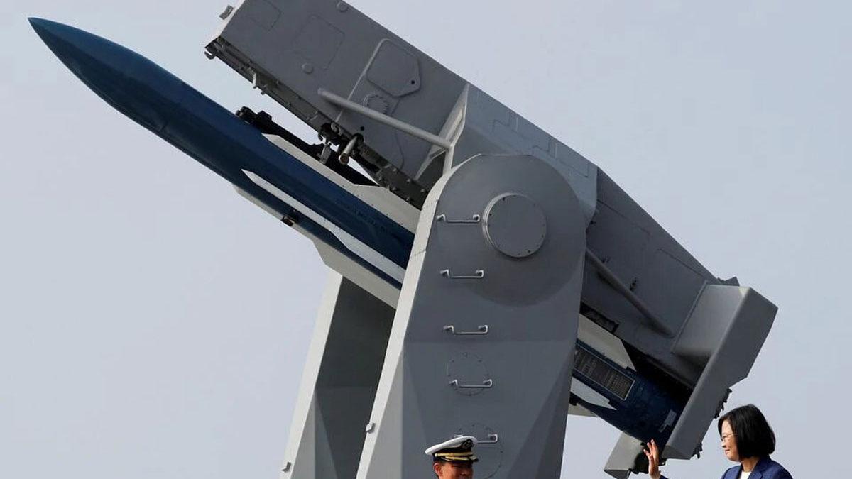 Taiwán dice que necesita armas de largo alcance para disuadir a China