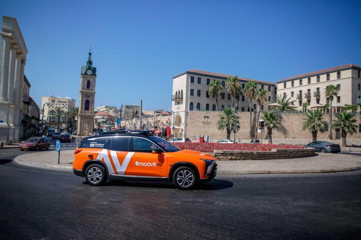 Mobileye lanzará un programa piloto de taxis autónomos en Tel Aviv en 2022