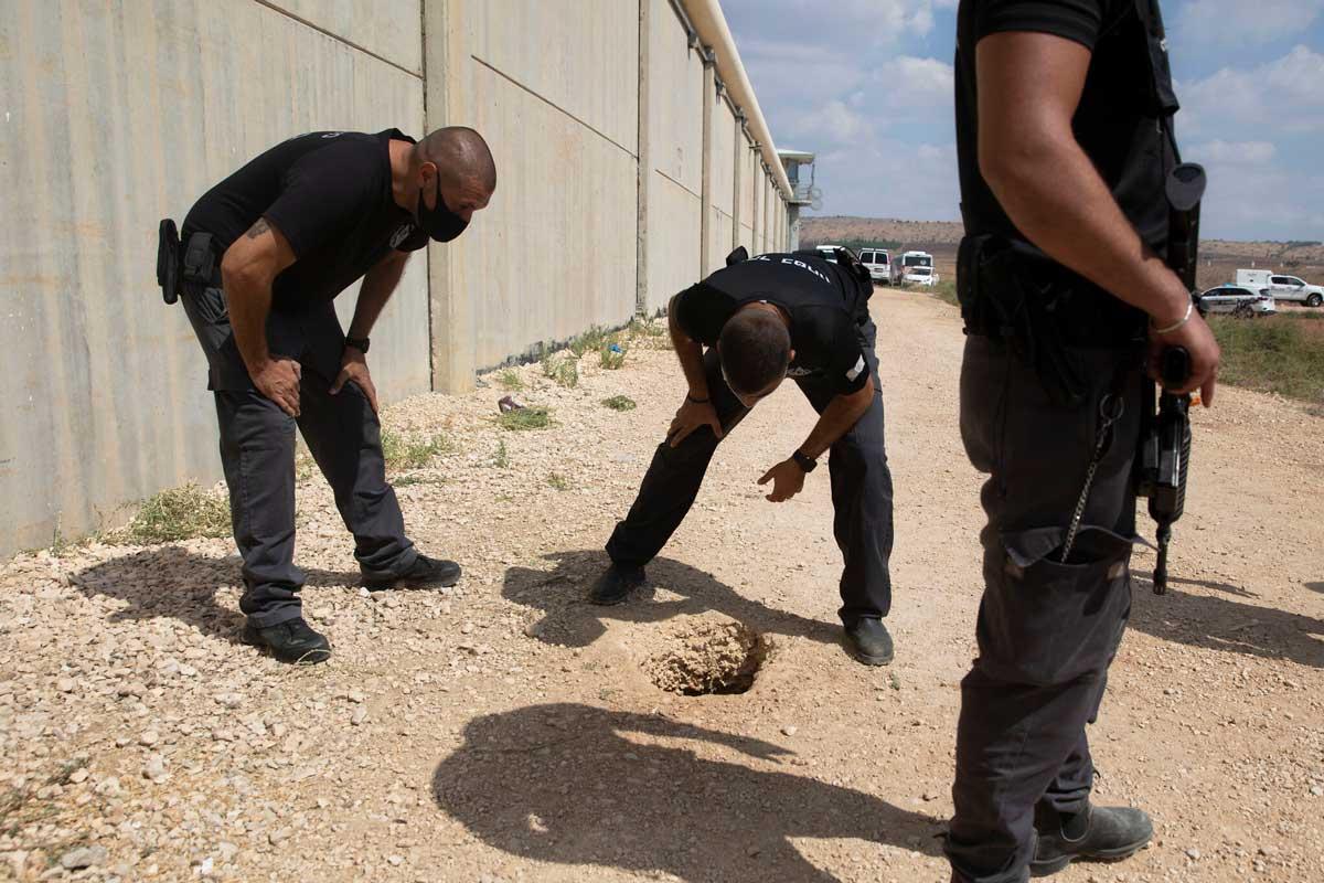 Fuga de Gilboa: Los terroristas adelantaron su escape un día por temor a ser descubiertos