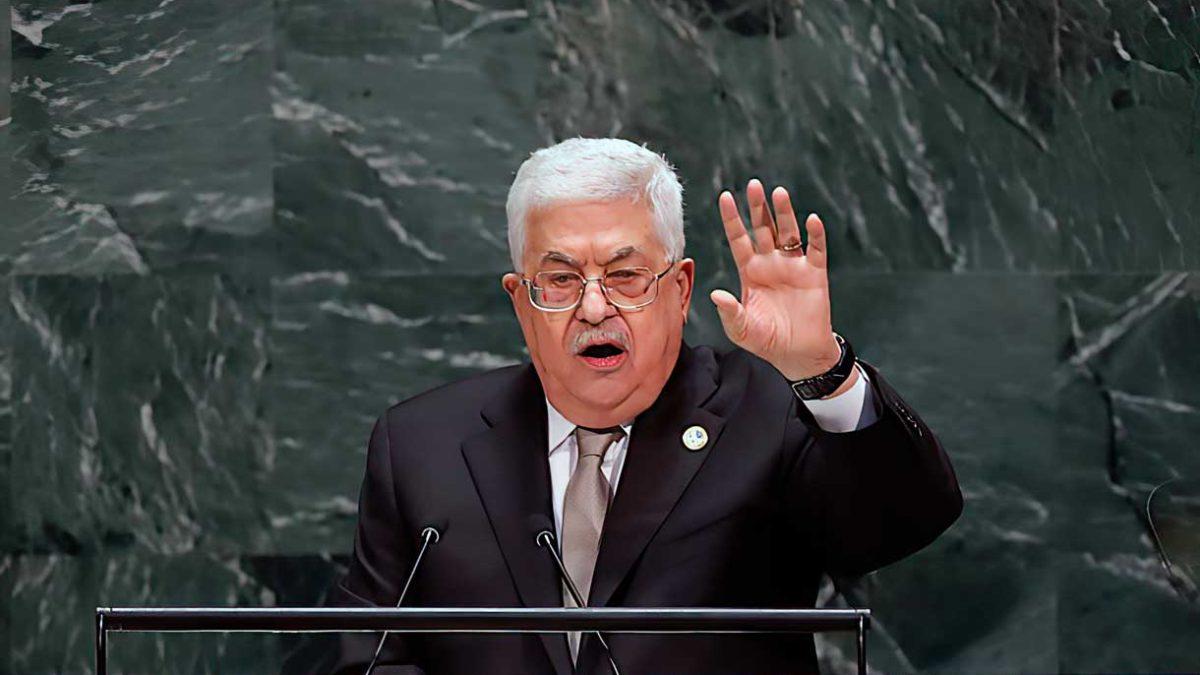 Abbas amenaza con disolver la Autoridad Palestina si no se forma un Estado