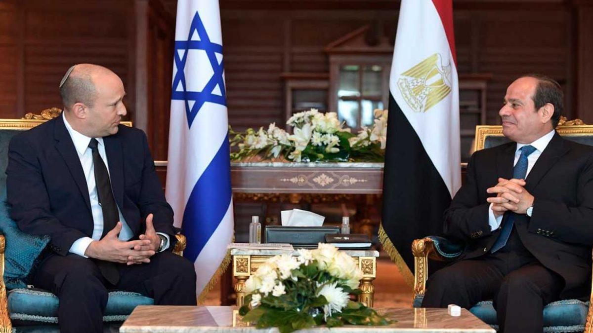 Israel y Egipto se encaminan hacia una paz más cálida