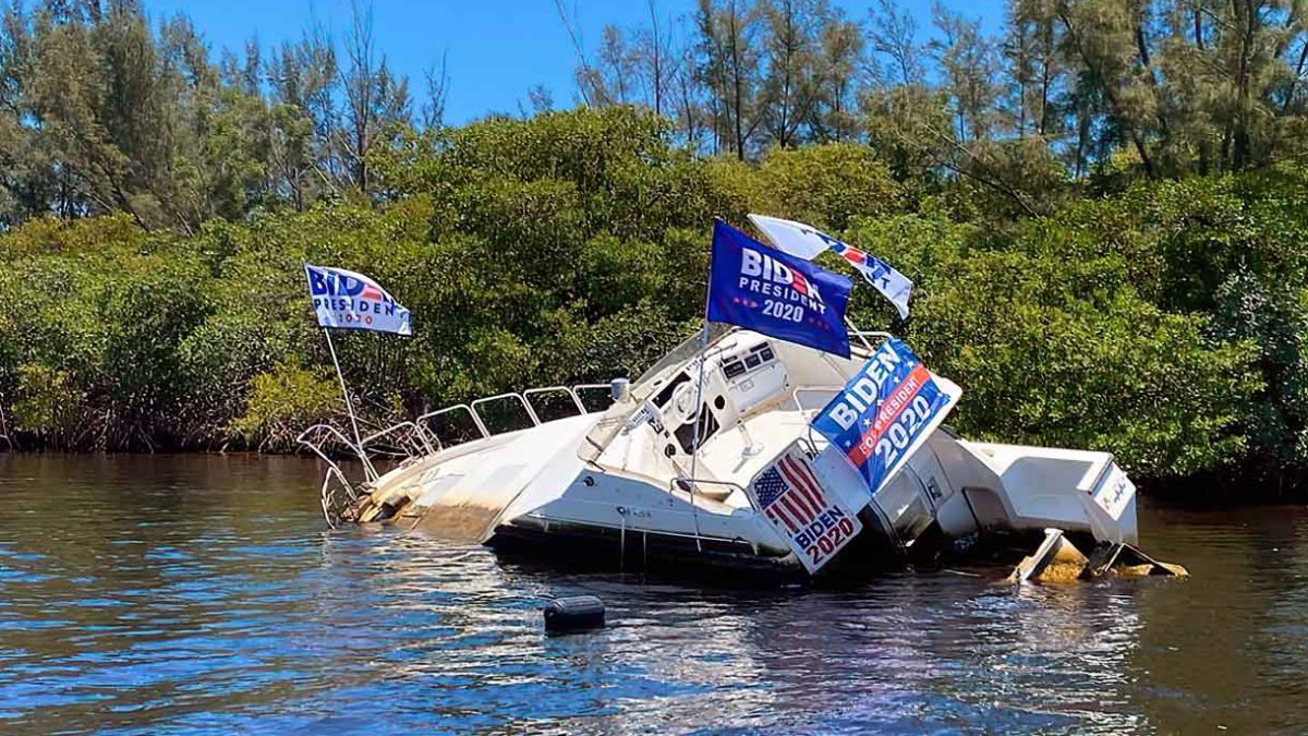 El barco de Joe Biden ha empezado a hundirse
