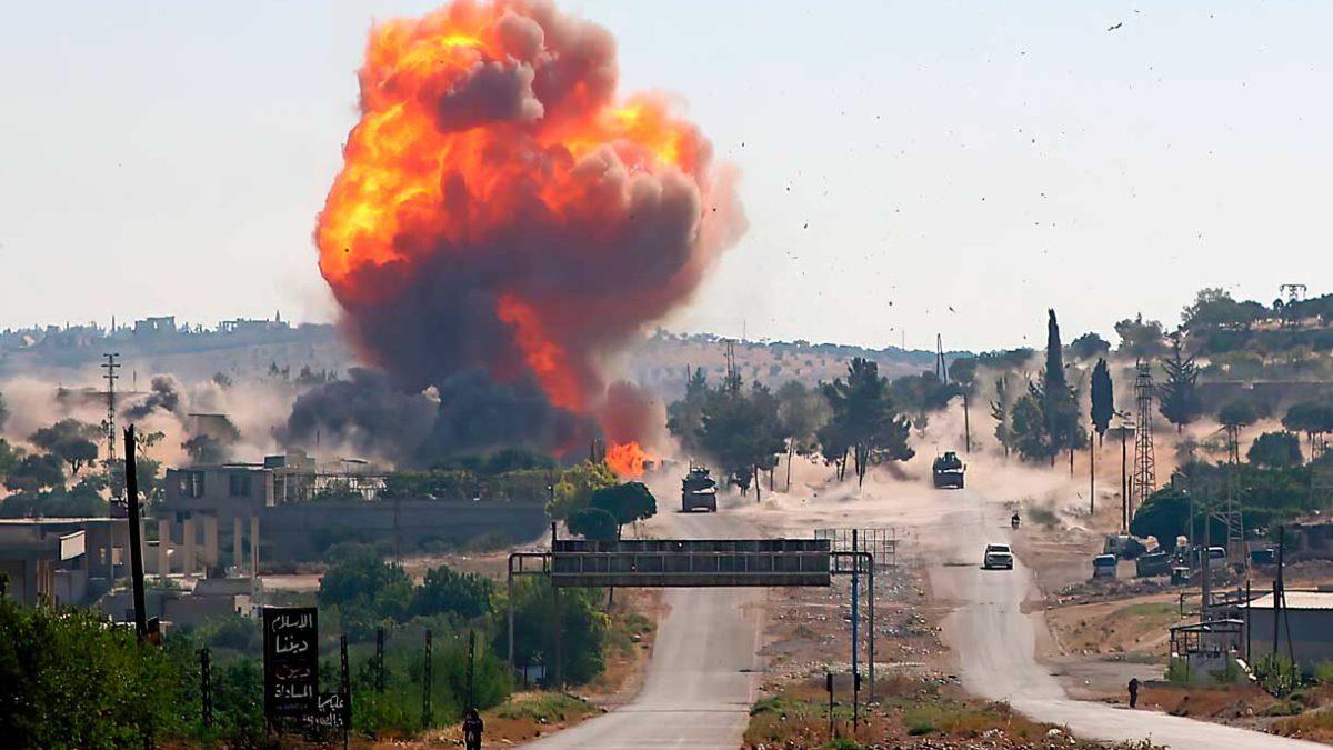 Ataque aéreo ruso mata a 7 combatientes apoyados por Turquía en el norte de Siria
