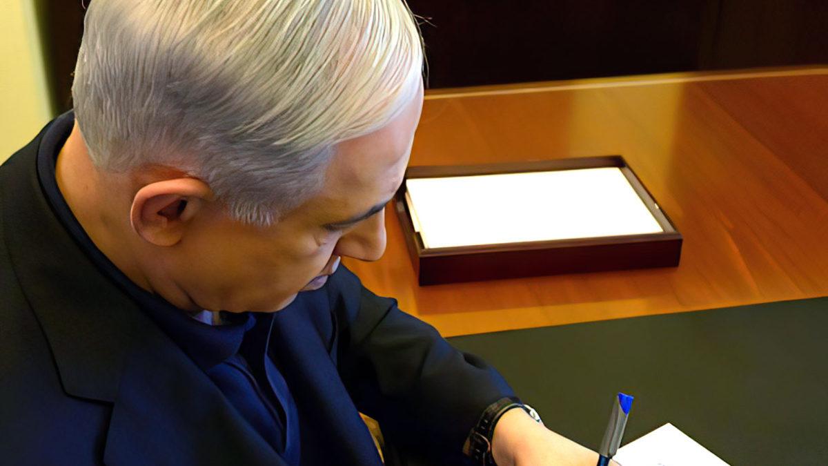 Netanyahu escribe un libro sobre su mandato y su visión del mundo