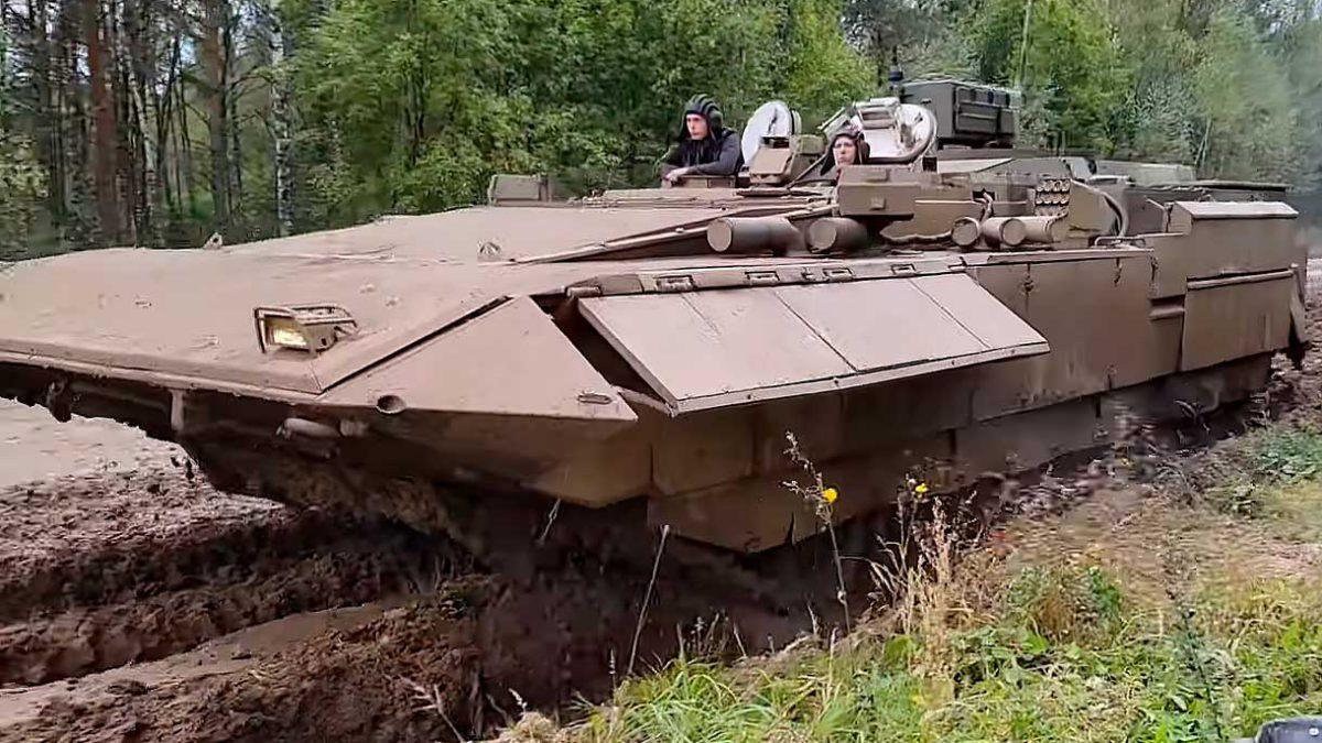 Rusia muestra una nueva versión de su vehículo de combate pesado