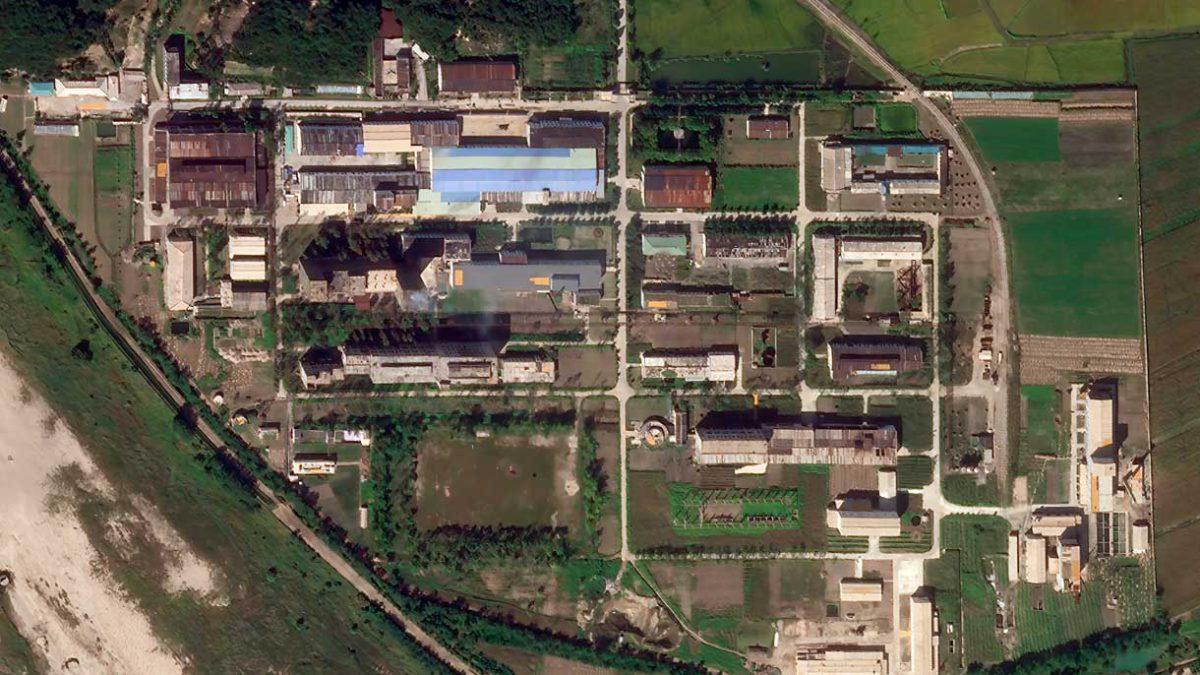 Nuevas fotos: Corea del Norte amplía planta de enriquecimiento de uranio