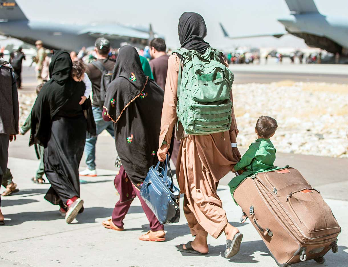 Por qué los refugiados afganos no van a otros países musulmanes
