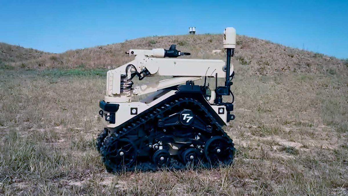 La Fuerza Aérea de Estados Unidos recibirá 170 robots T7
