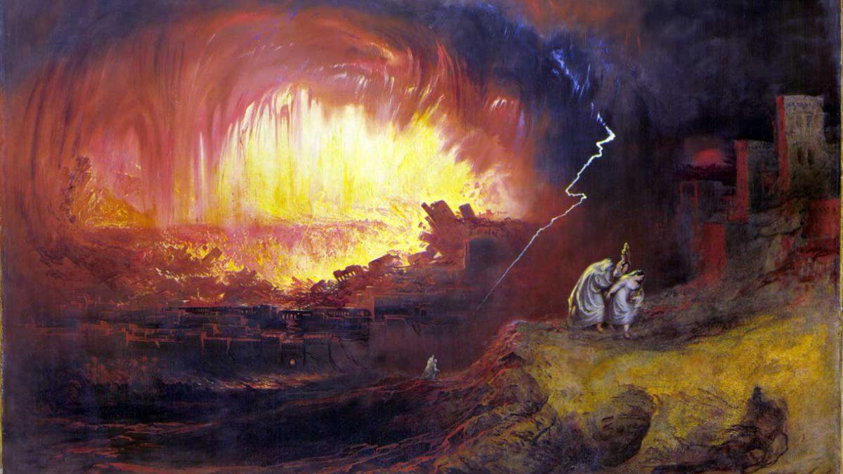 Un meteorito destruyó una antigua ciudad en el Mar Muerto hace 3600 años