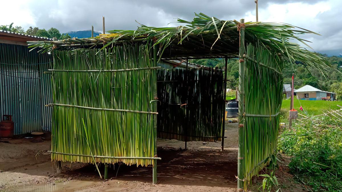 Tribu perdida Bnei Menashe celebra Sucot en la India