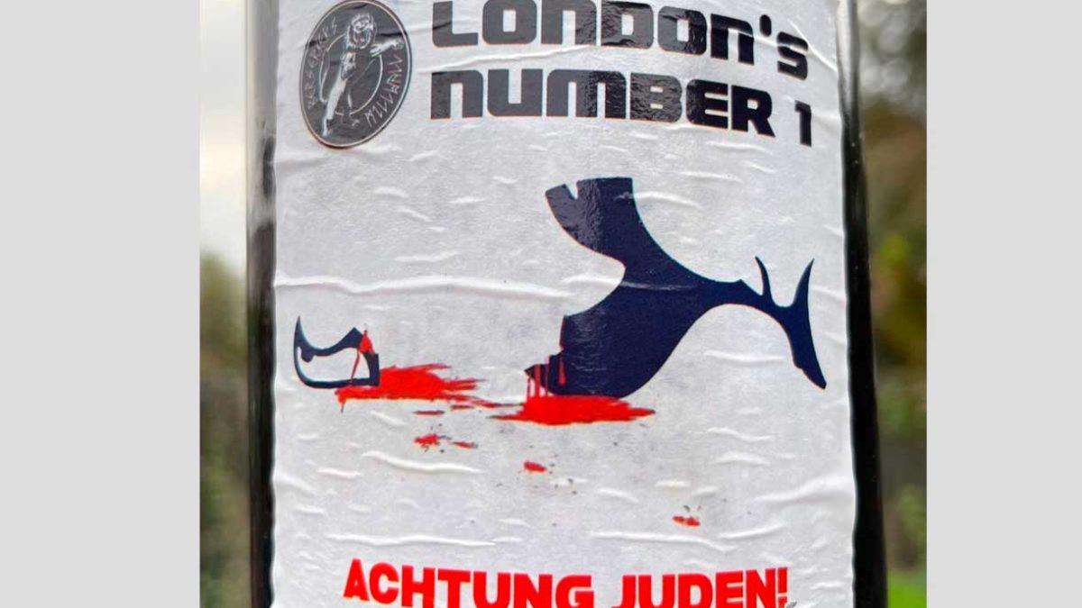 Un equipo de fútbol británico denuncia un cartel antisemita