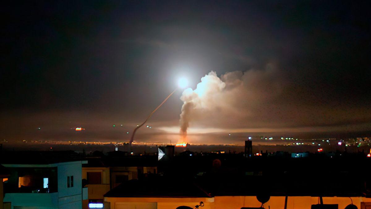 Siria afirma que Israel llevó a cabo ataques aéreos en Homs