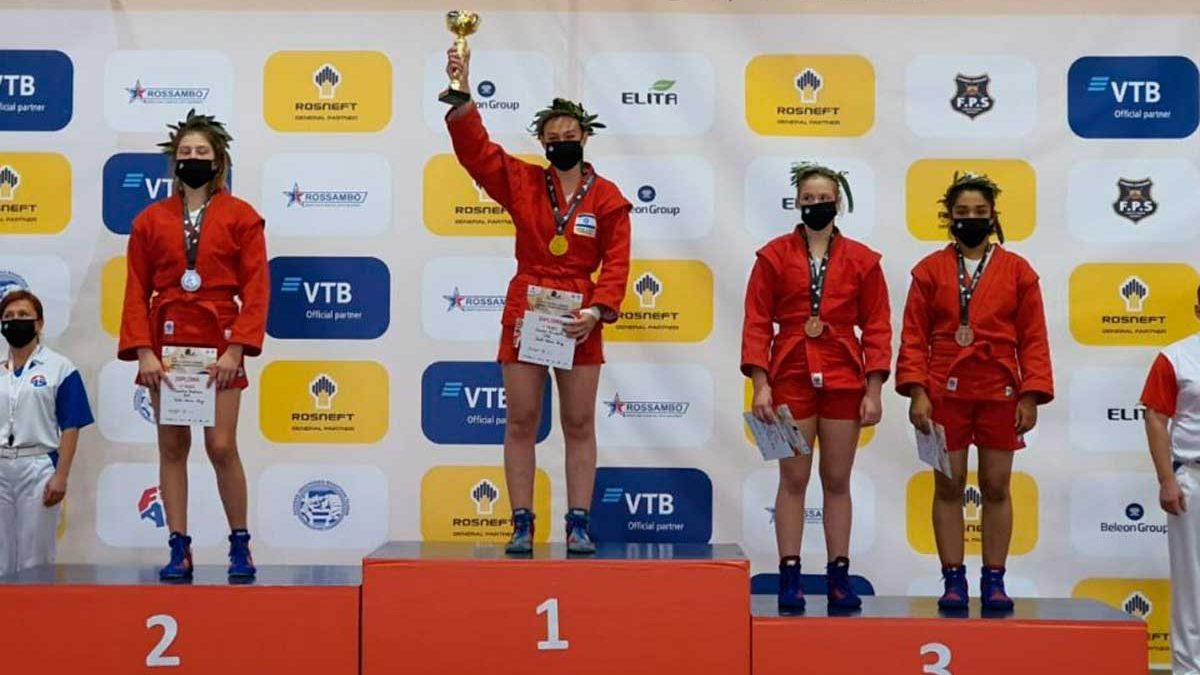 Adolescente israelí gana el oro en el Campeonato Mundial Juvenil de Sambo