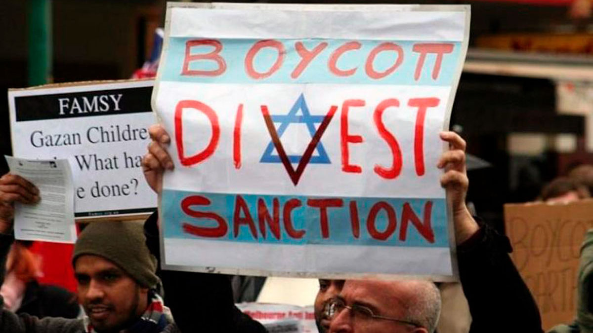 El BDS vuelve a demostrar que su objetivo es el antisemitismo