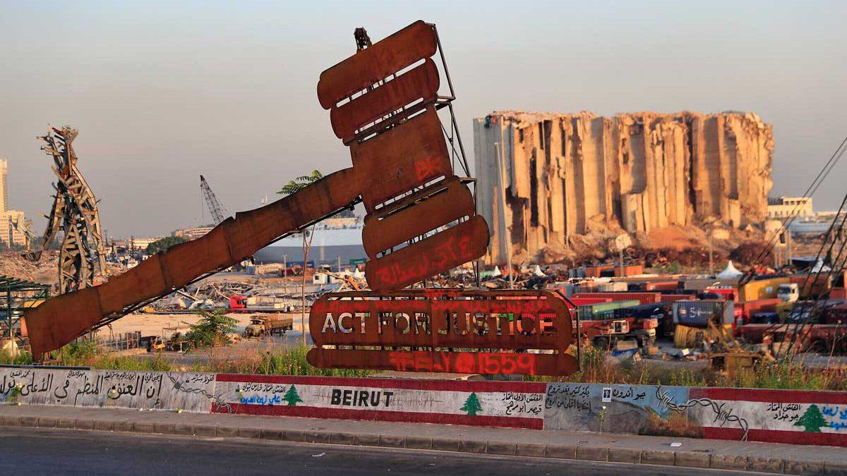 Líbano reanudará la investigación sobre la explosión en el puerto de Beirut