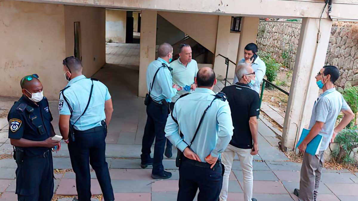 Beit Shemesh: edificio evacuado por preocupaciones de colapso inmediato