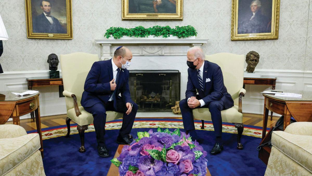 """Bennett dice estar """"sorprendido"""" por la presión de Biden contra la construcción en Judea y Samaria"""
