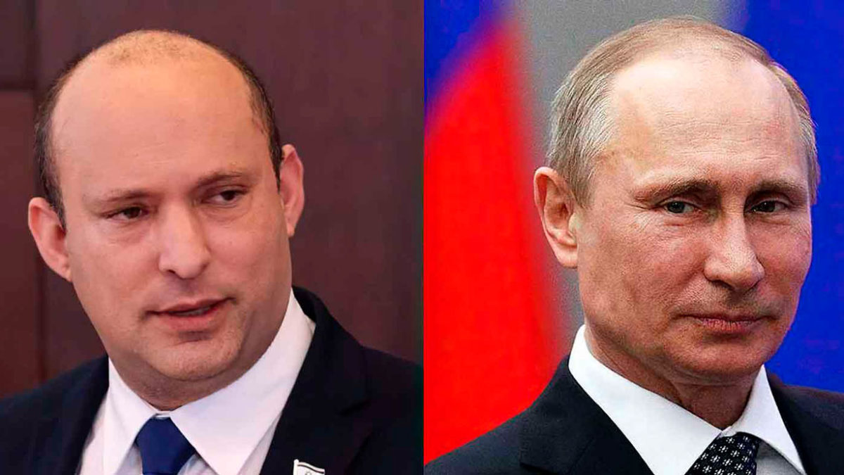 Bennett y Putin hablan sobre los desafíos regionales