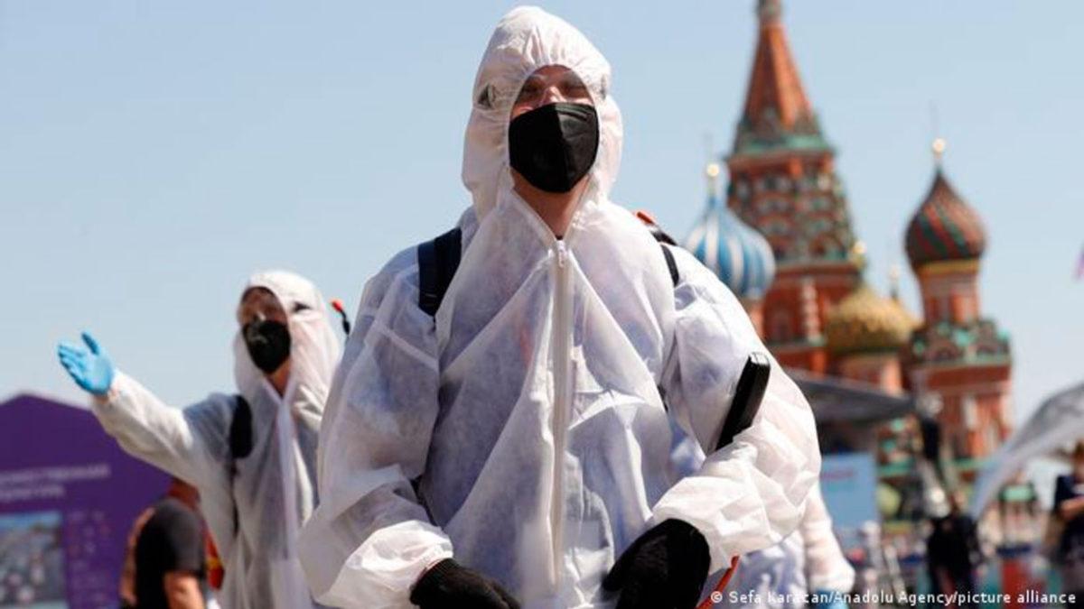 Rusia registra el mayor número de casos de COVID-19 en un día este año
