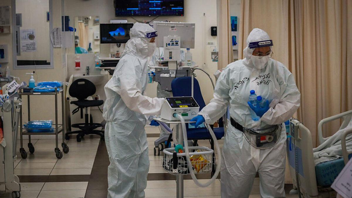 Covid-19 en Israel: El 75% de los pacientes graves no están vacunados