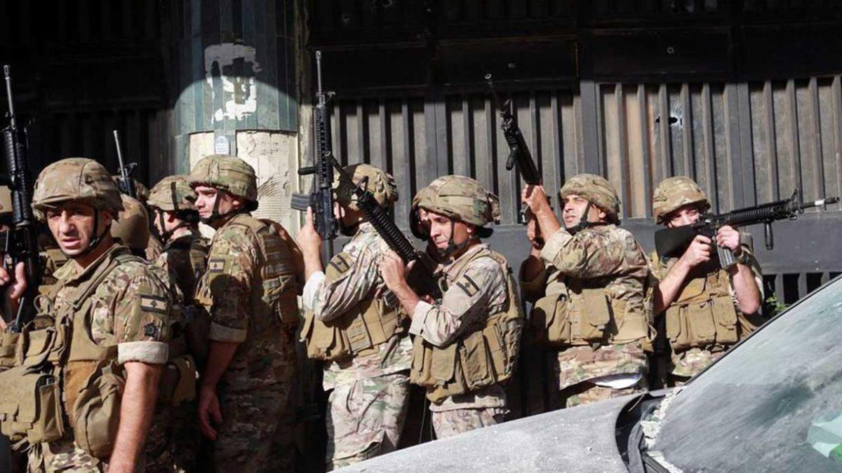 Estados Unidos otorgará $67 millones adicionales en ayuda al ejército libanés