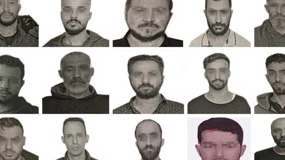 Turquía revela fotos de los 15 presuntos espías del Mossad detenidos