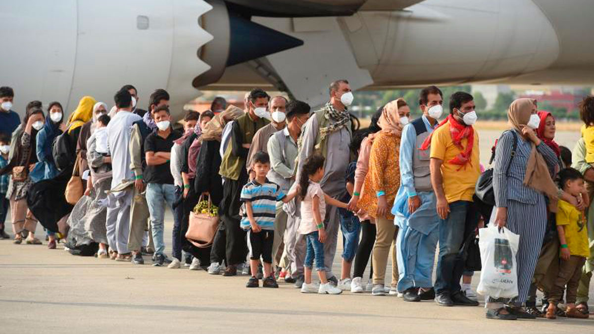ONG israelí evacuó en secreto a 167 afganos vulnerables