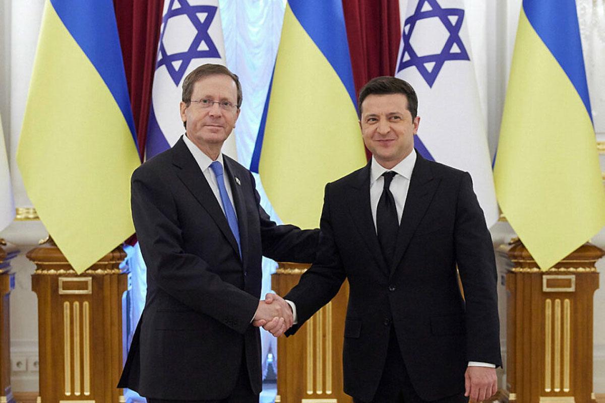 Herzog agradece al presidente de Ucrania por luchar contra el antisemitismo
