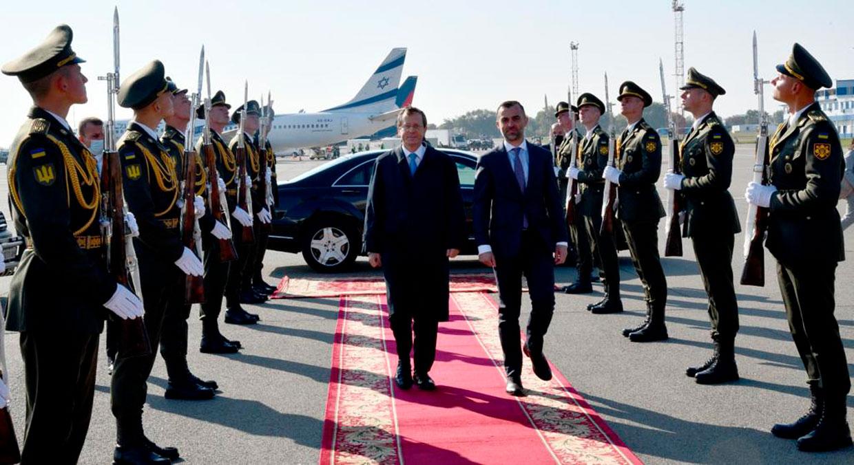"""Herzog en Ucrania: Europa """"no puede tolerar"""" ninguna forma de antisemitismo"""