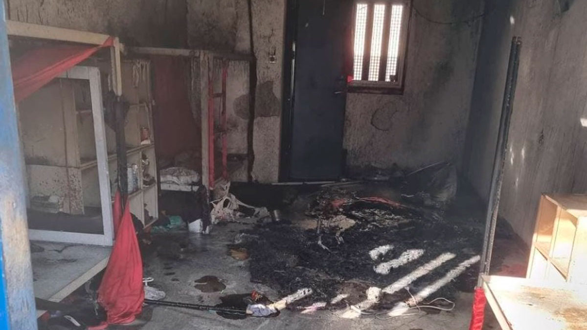 Terroristas de la Yihad Islámica encarcelados acusados de prender fuego a las celdas