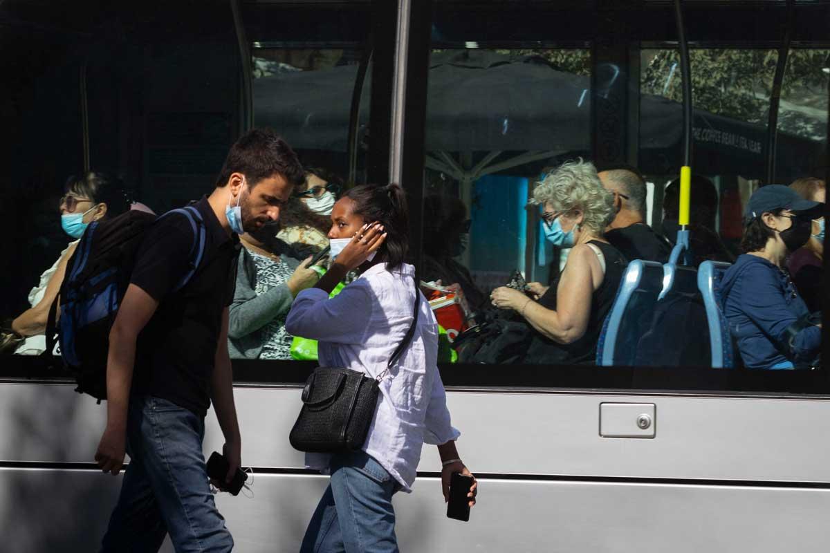 Covid-19 en Israel: El número de casos graves cae el nivel más bajo en 2 meses