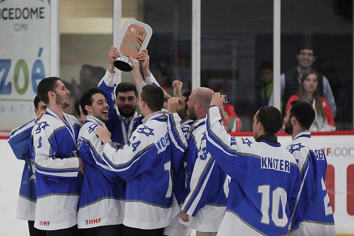La selección israelí de hockey sobre hielo tiene buenas perspectivas