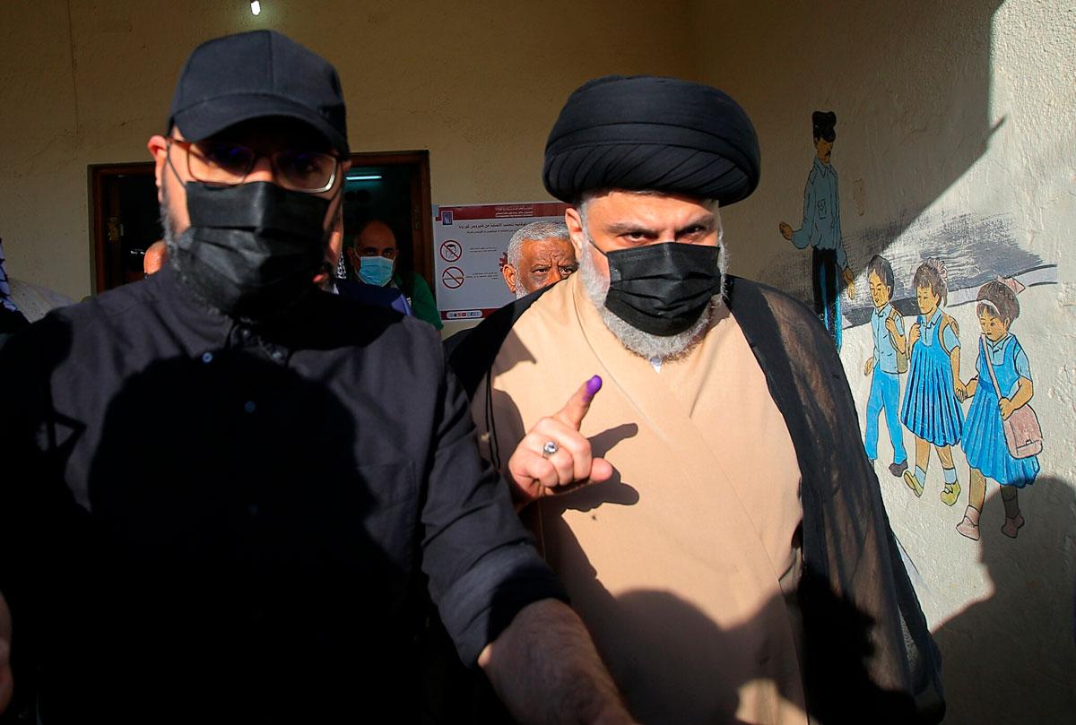 Las facciones pro Irán son los mayores perdedores en las elecciones de Irak
