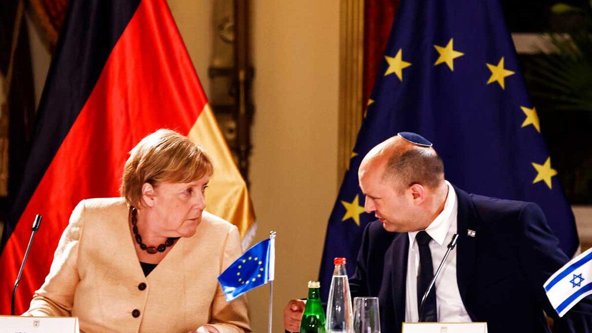 """Merkel reafirma su apoyo a la creación de un """"Estado palestino"""""""
