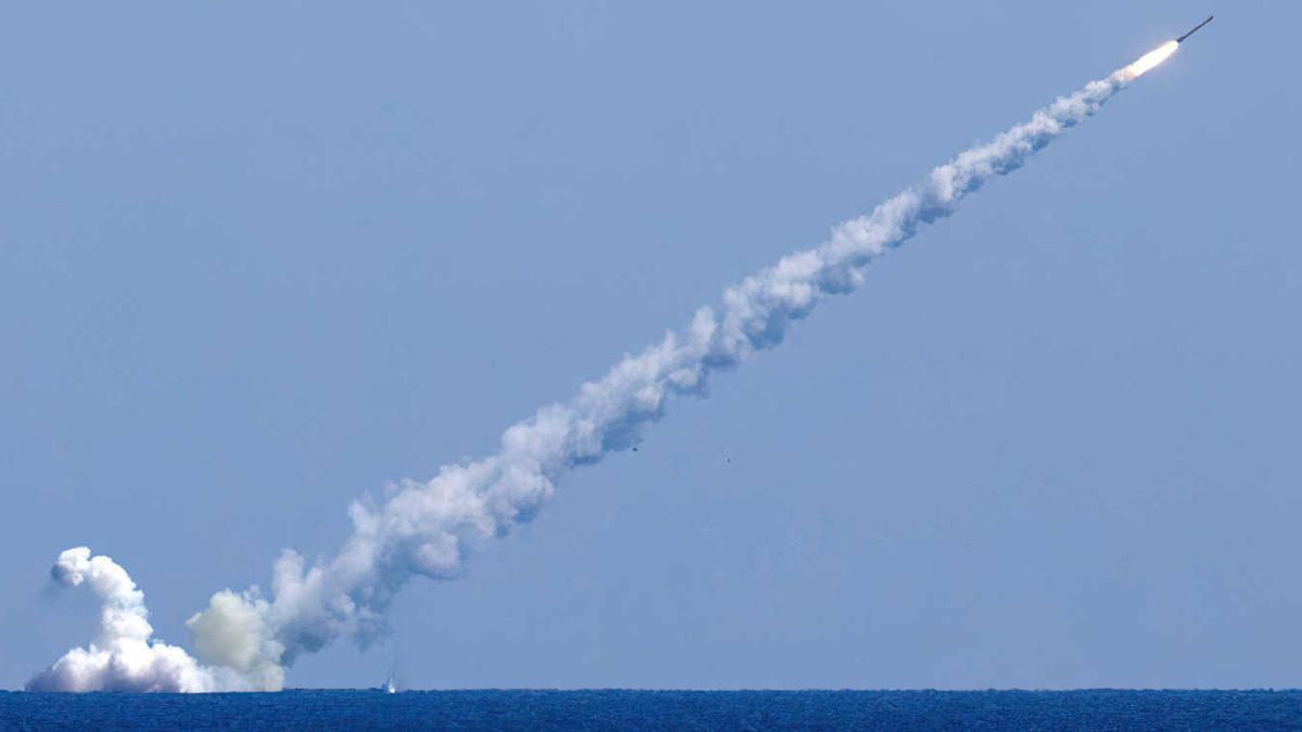 Rusia lanza un misil hipersónico Zircon desde un submarino