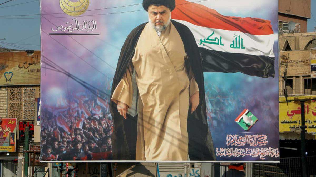 El clérigo chiíta Moqtada al-Sadr gana las elecciones en Irak