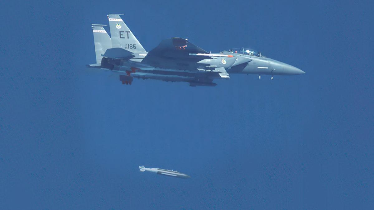 Fuerza Aérea de EE.UU. prueba el Penetrador Avanzado 5K GBU-72