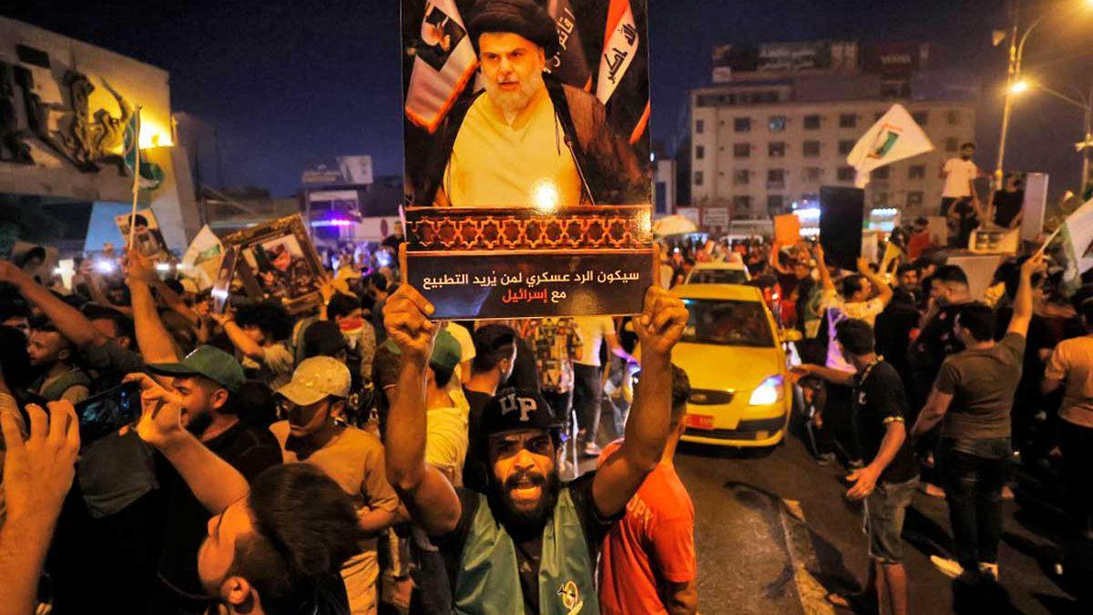 """Grupos pro Irán denuncian las elecciones en Irak como una """"estafa"""""""