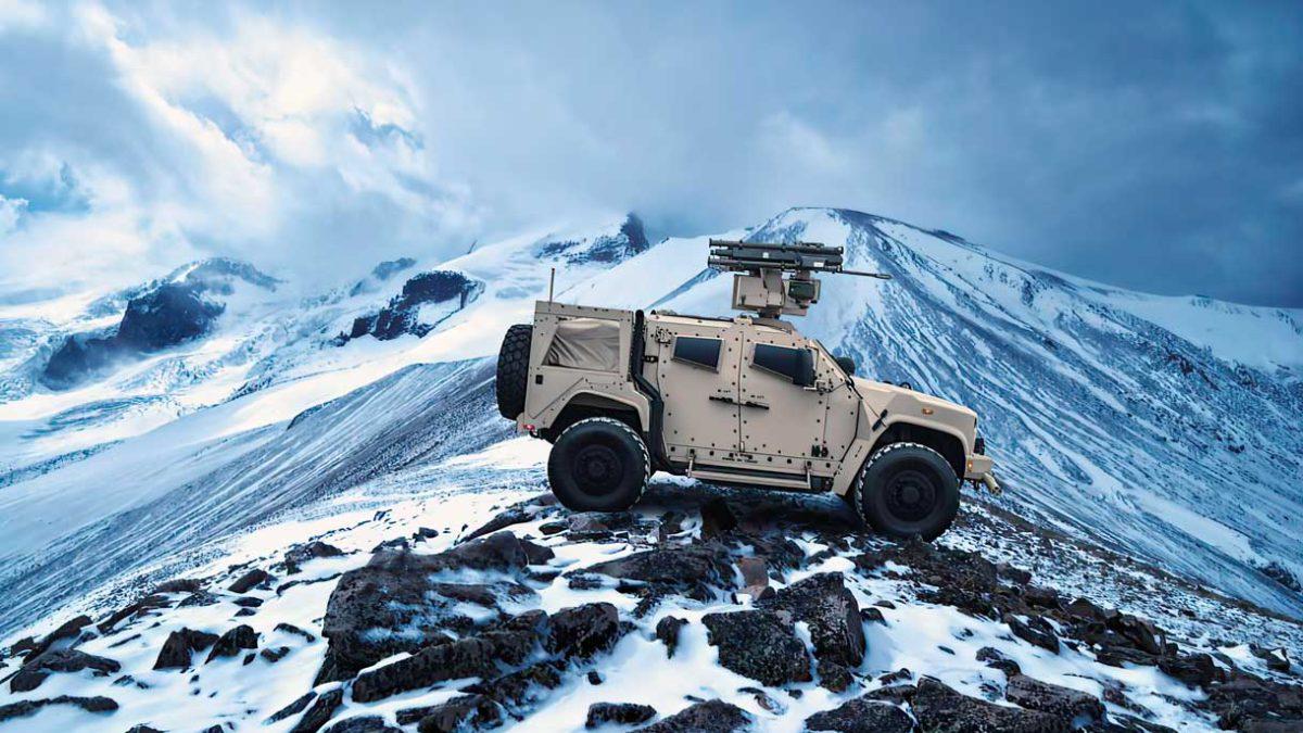 Kongsberg producir sistemas de armas remotas (RWS) del Cuerpo de Marines de los Estados Unidos