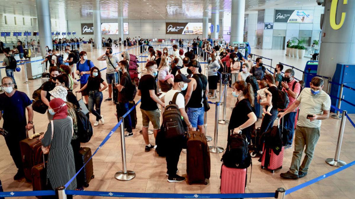 Los turistas vacunados podrán ingresar a Israel a partir de noviembre