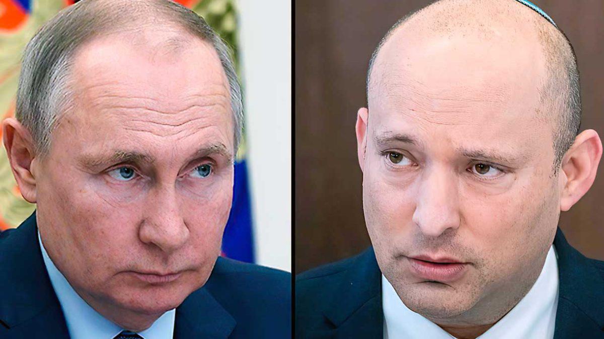 Contactos en marcha para la reunión Bennett-Putin