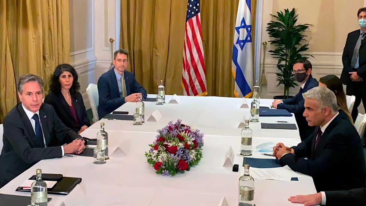 Lapid se reunirá esta semana con Blinken y el máximo diplomático de los EAU mientras se gestan nuevas conversaciones sobre Irán