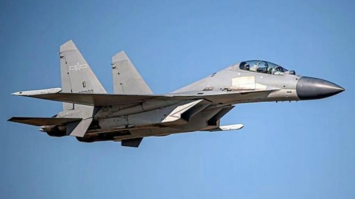China envía el récord de 38 aviones a la zona de defensa de Taiwán